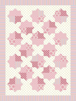 Spinning Plates Quilt Pattern