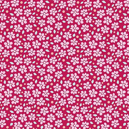 The Bird Pond Collection Tone Finnanger Marnie Raspberry 100110 Tilda Fabrics