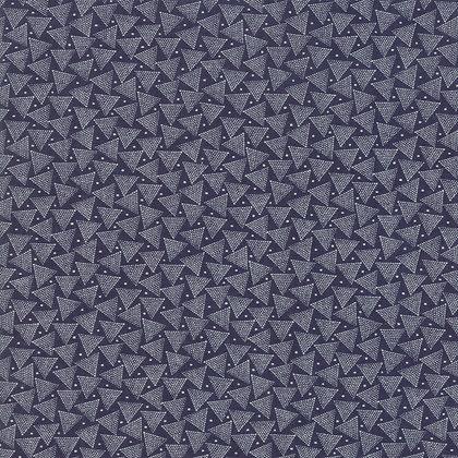 Indigo Gatherings Primitive Gatherings 1293-17 moda fabrics