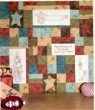 Magic Of Christmas Quilt Pattern