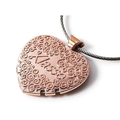 Rose Gold Heart Shaped Klasse thread cutter