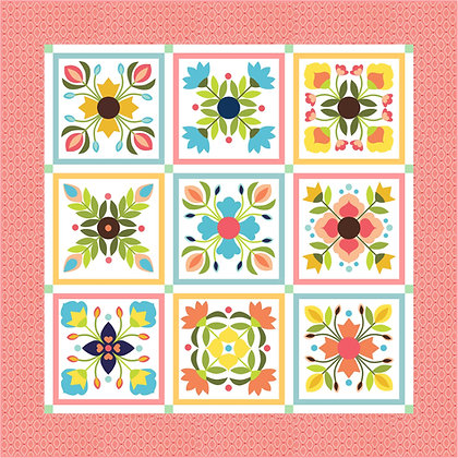 Flower Garden Quilt Pattern