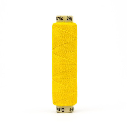 Wonderfil Ellana Wool Thread Sun Yellow EN34 Sue Spargo