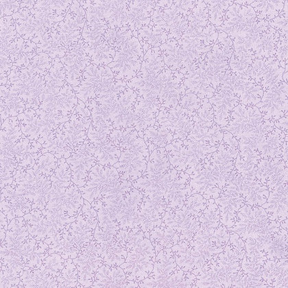 Delicate Vines Lilac Wide Back fabric