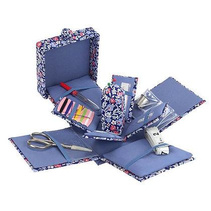 Liberty Fabrics Primula Dawn Victorian Sewing Box