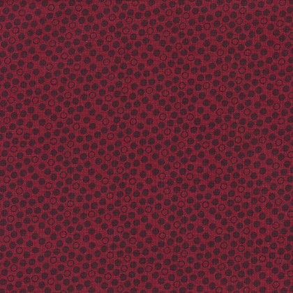 Ditzy Dots Wine  - Wide Back