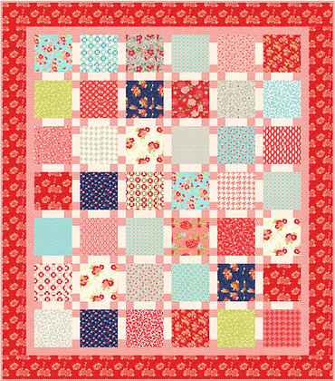Fun Flowers Quilt Pattern