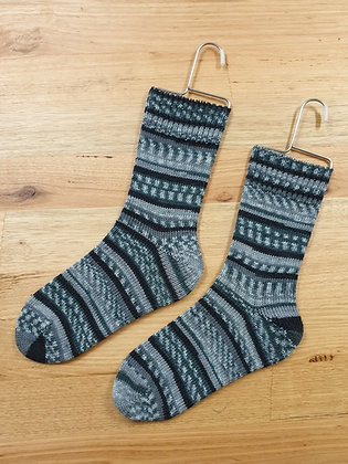 Hand Made Socks Polar Night socks please socks by shirl