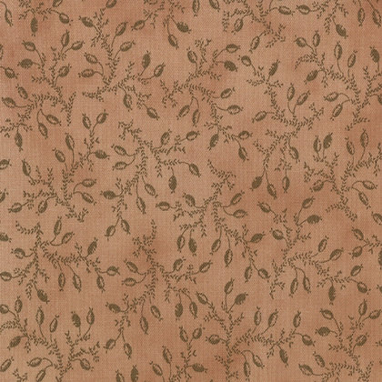 Little Gatherings vines Tan Primitive gatherings moda fabrics 1046-29