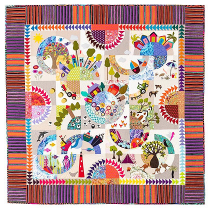 Wendy Williams Over the Hill Quilt Pattern