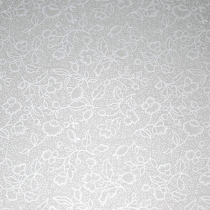 Tone on Tone Posies White GL6502-21677