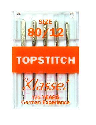 Klasse Topstitch Needles 80/12