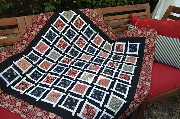Asian Twist Mini Quilt Pattern
