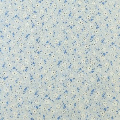 30'S Flower Blue 3879