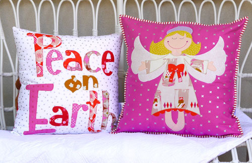Claire Turpin Angel Delight Cushion Pattern