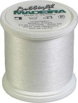 Madeira Bobbinfil Thread White 500 meters