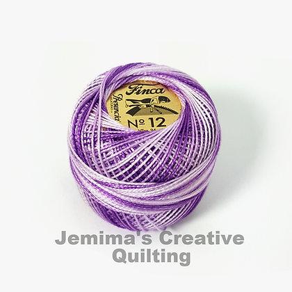 Finca Presencia Perle 12 Thread 9480 Lavender Lace