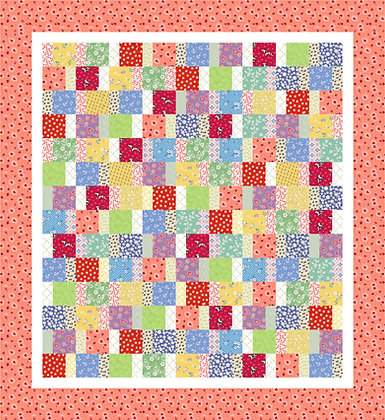 Colourful Charm Quilt PDF Pattern