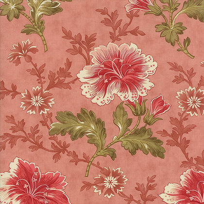 Autumn Lily blackbird designs 2740-12 moda fabrics peach floral