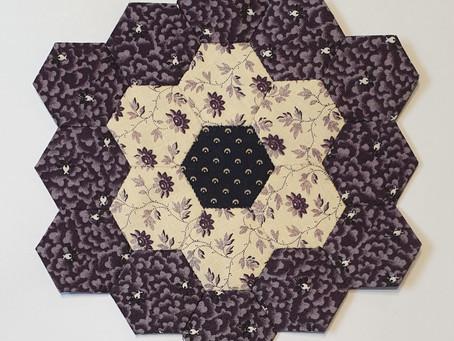 Mystery Hexagon Quilt Part 8A