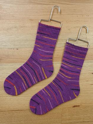 Hand Made Socks Fuschia socks please socks by shirl