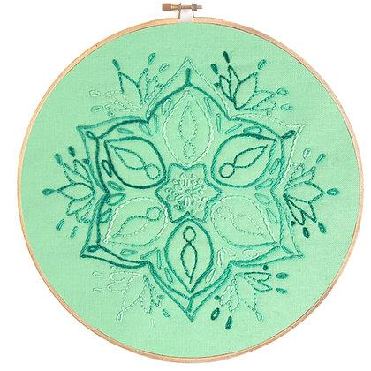 Mandala 19 Stitchery Pattern