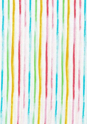 Watercolour Floral Stripes 7076-10 kennard and kennard
