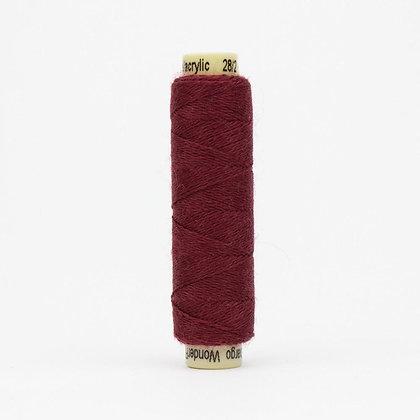 Wonderfil Ellana Wool Thread Garnet EN45 Sue Spargo