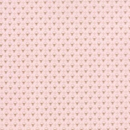 Moda Fabrics Bunny Hill Kindred Spirits fabric baskets pink 2897-14