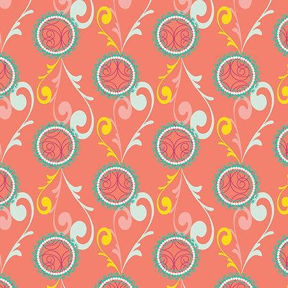 Sugar Apricot Fizzy Bubbles Pat Bravo SU-804 art gallery