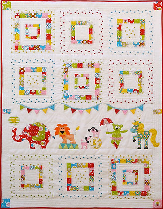 Animal Circus Quilt Pattern Claire Turpin