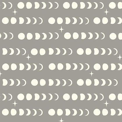birch fabrics Arleen Hillyer moon phase shroom