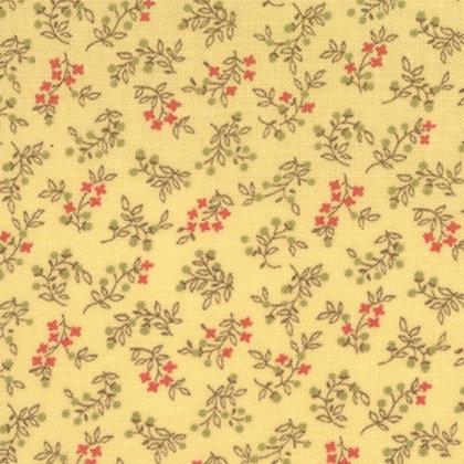 Moda Simple Abundance Yellow Bonnie and Camille 55017-14 Australia Melbourne Fabric Cream Yellow