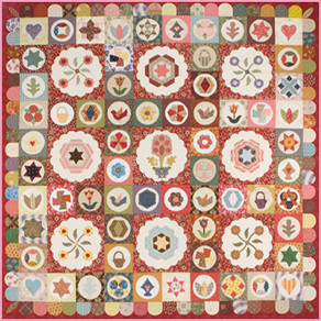 Tips on Making the Antique Sampler Quilt