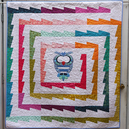 Claire Turpin Swirl Pick and Mix Quilt Pattern