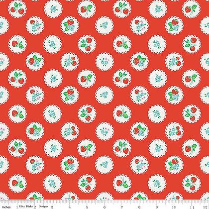 Strawberry Biscuit Elea Lutz C5103 Red