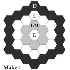 Free Mystery Hexagon Quilt Part 1
