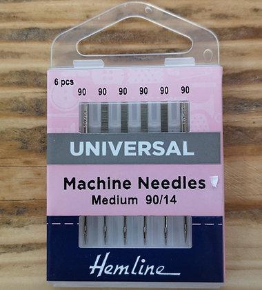 Hemline Sewing Machine Needles 90/14