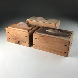 Cherry Mitered Boxes