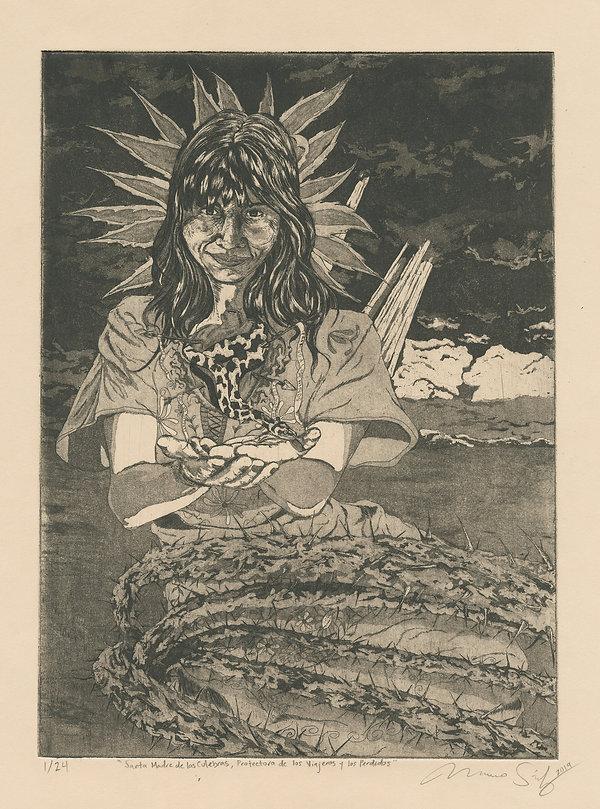 Santa Madre de las Culebras, Protectora