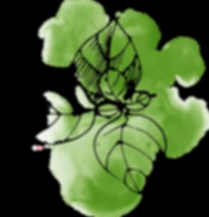aquarel Leaves