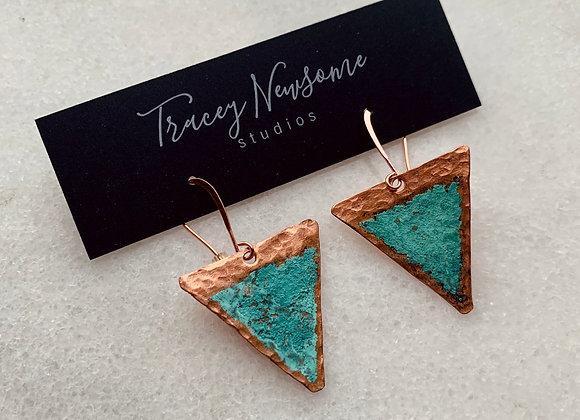 Mini Patina Triangles