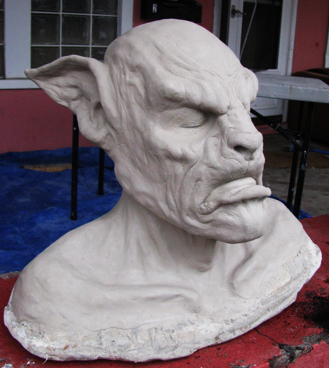 Wolfman: WED Clay
