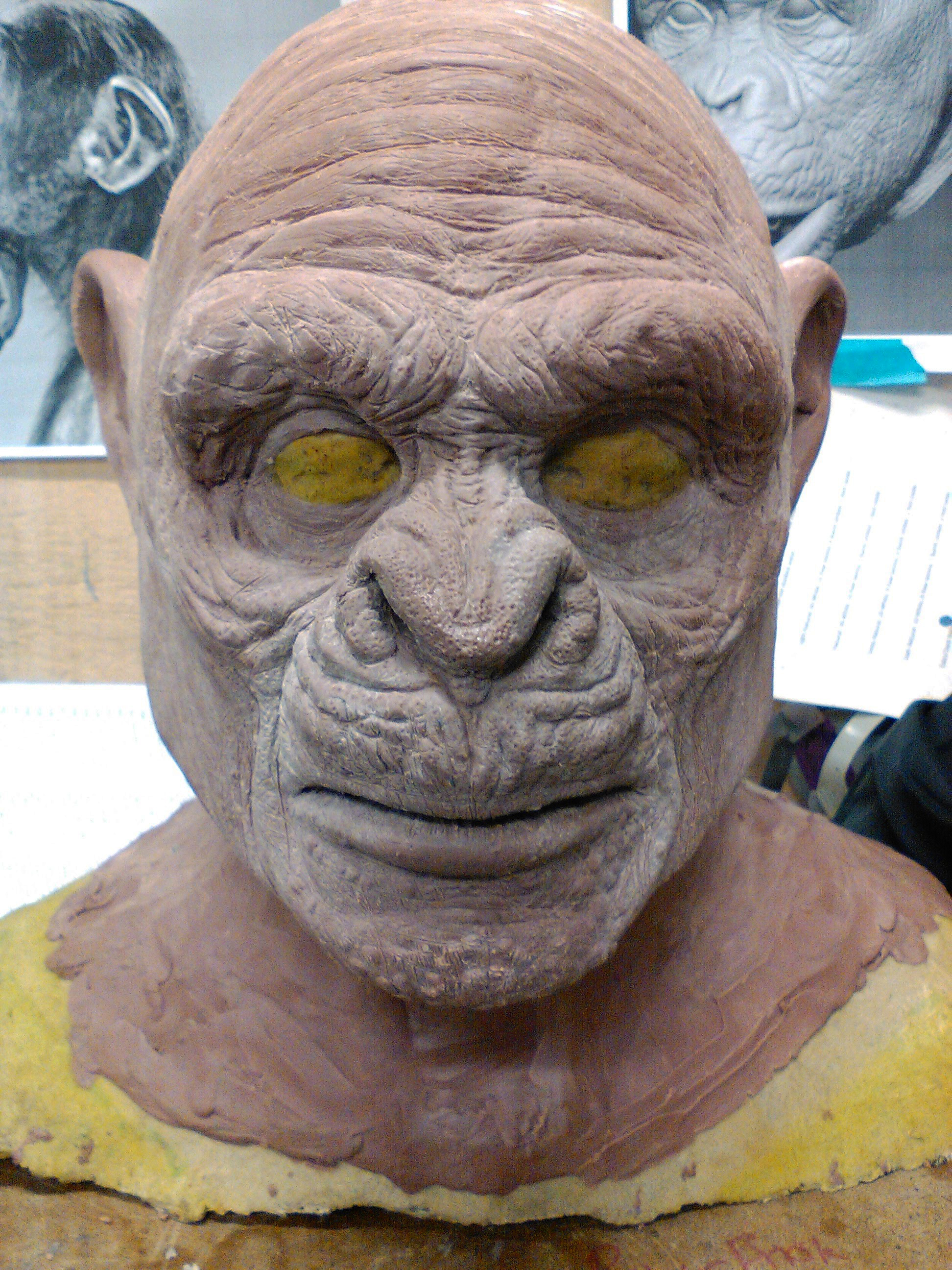 Chimpanzee: Monster Clay