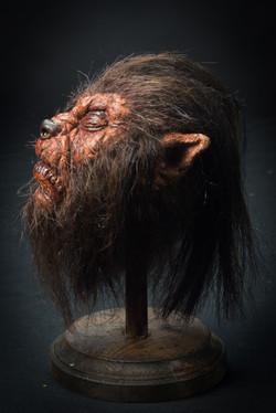 """""""Shrunken"""" Werewolf Head"""