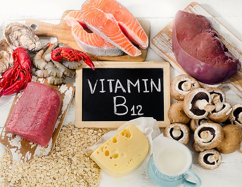 Natural sources of Vitamin B12 (Cobalami