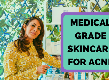 How To Treat Acne with Medical Grade Skincare