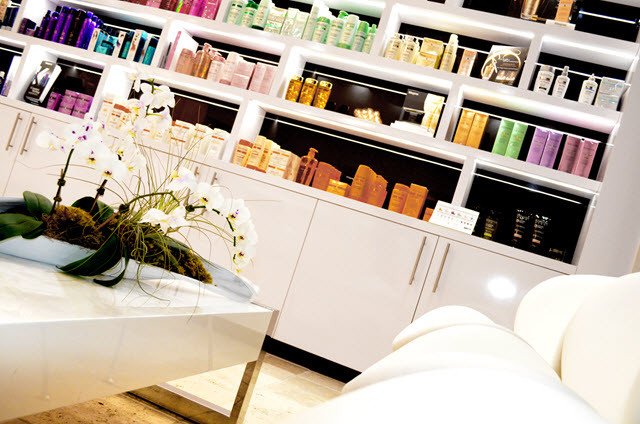 Kérastase products at Cosmo and Company Hair Salon, West Palm Beach. FL