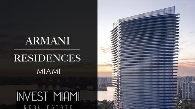 ARMANI CASA RESIDENCES (SUNNY ISLES - MIAMI) 1-305-987-3703