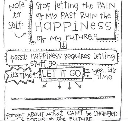 Happiness is Letting Go!